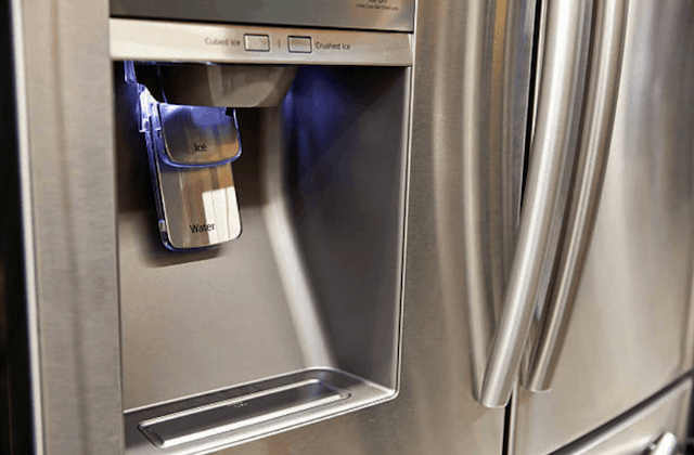 broken refrigerator water dispenser